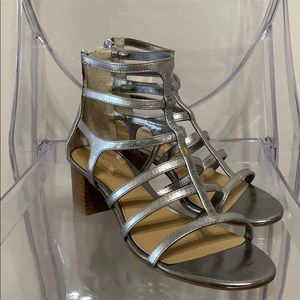 RALPH LAUREN | 6 | leather ankle gladiator sandals